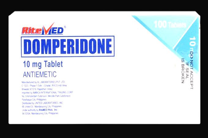 Domperidone (motilium) 10 mg 120 pills in a package