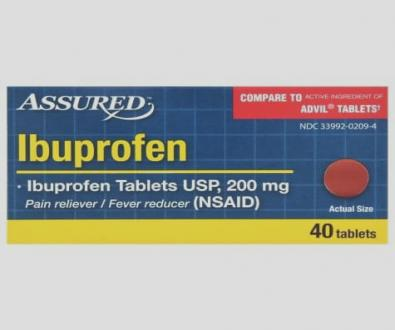 Ibuprofen 200 mg 30 package quantity