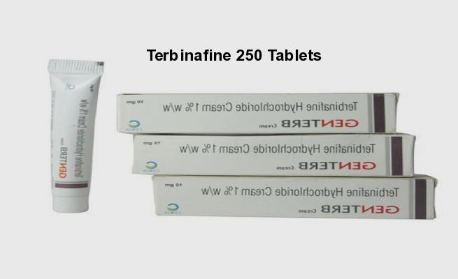 Terbinafine (lamisil) 250 mg 10 amount in a package