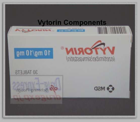 Vytorin (ezetimibe) 20 mg 30 the amount of packaging
