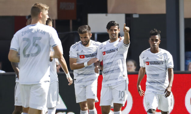 LA FC Proves to be Too Much for DC United