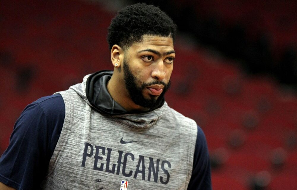 Celtics to pursue Anthony Davis even if Kyrie Irving leaves