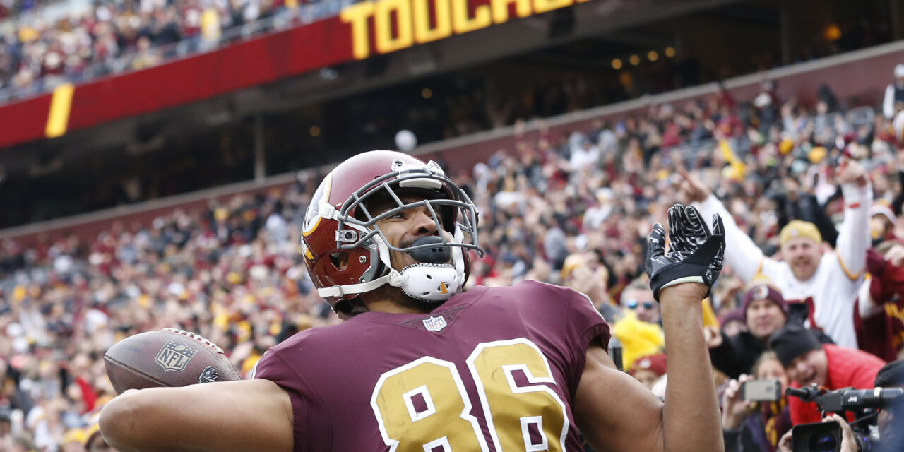Jordan Reed agrees to One-year deal with 49ers