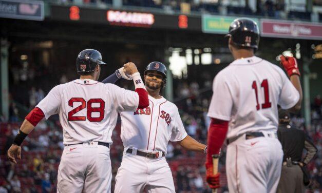 Red Sox 8-1 Athletics