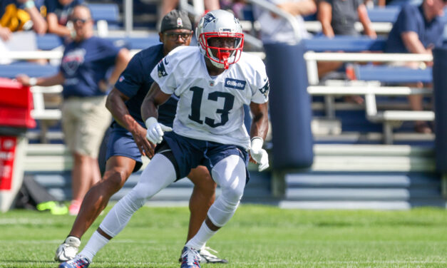 The New England Patriots 2021 Wide Receiver Fantasy Football Rankings